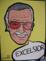 EXCELSIOR Stan Lee by roydraven777