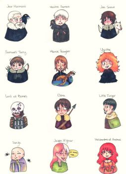 ASOIAF characters 04 by HieiLovesCookies