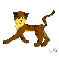 Brambelclaw - School thingy by IronMeow