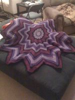 Purple Blanket For Sale! by CureMinorWounds