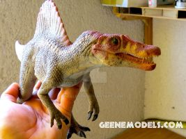 Spinosaurus 1:35 scale. by GalileoN
