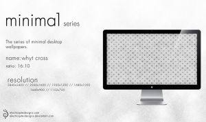 minima1 series - whyt cross by electroqute-designs