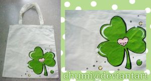 Tote Bag: Clover by chumi