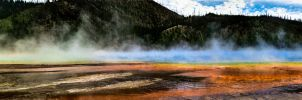 Prismatic Spring Pano #2 by KRHPhotography