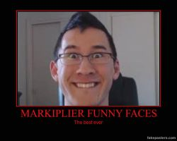 Markiplier Funny Faces by MalGirl101