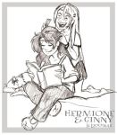 Hermione And Ginny : Girl Talk by lberghol