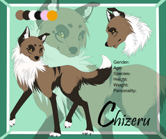 Chizeru - Ref Sheet Commission by Ignyae