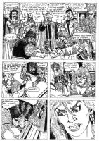 Red Sonja Page 4 by conradknightsocks