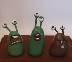 Flushed Away Slugs Painted by shalonpalmer