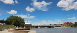 Esplanade Riel Bridge by Joe-Lynn-Design