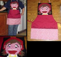 Cooking Mama Apron by supermutts