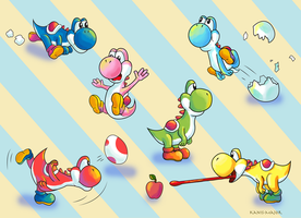 Yoshi Rainbow by Kanis-Major