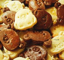 rilakkuma cookies by Lain-AwakeAtNight