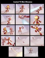 Ironlad VS Mini Ultraman COLOR by JoshawaFrost