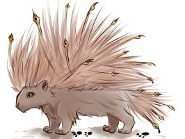Porcupine Quills by shycatgirl