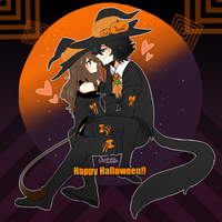 Happy Belated Halloween by Rika-Wawa