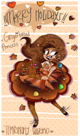 Gingerbread princess new oc by temporaryWizard