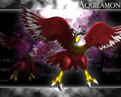 Aquilamon 3d by me by EAA123