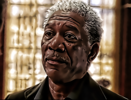 Morgan Freeman Again by donvito62