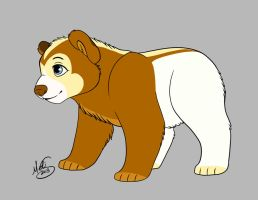 Custom bear cub for Deckyhooves by Miss-Melis