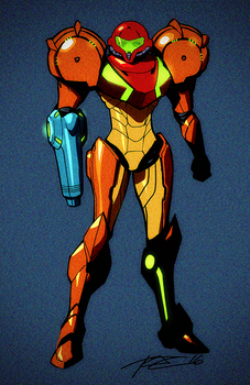 Metroid Chaser by Robaato