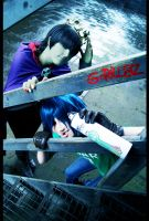 GoRiLLaZ Cosplay 225 Spray 2D by Murdoc-lein