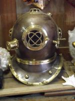 Divers Helmet Stock by Queens-Revenge