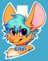 Badge Commission for KabuKitty by Kaweki