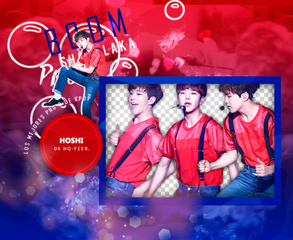 +Pack Png Seventeen|Hoshi by Pohminit