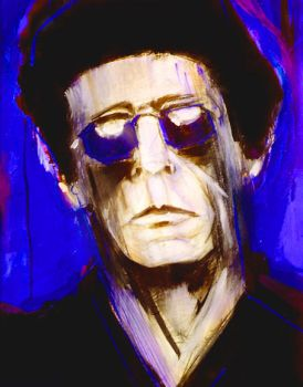Lou Reed by onemansho