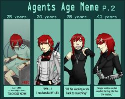 Agent 140 Age meme pt. 2 by Death-by-Papercuts