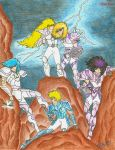 Hero Silver Saints by AlfrexVent