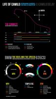 Daily Commute Infographic by AbaddonVolac