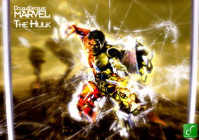 Hulk - Double Exposure Project by DeZa786