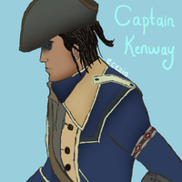 Captain Kenway by Ecezio