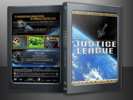 JUSTICE LEAGUE V1 CUSTOM COVER IN CASE -V2- by SUPERMAN3D