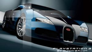 Bugatto Veyron HD, for PS3 by sunnybacon
