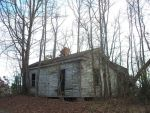 Abandoned house in trees by micheleoxton
