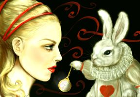"""""""The Talented Mr. Rabbit"""" by I-Andreea-I"""