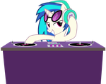 Vinyl Scratch  - The DJ by nsaiuvqart