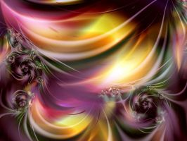 Roses Curtain by ALP-Dreams