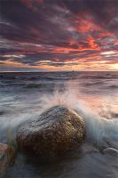 Heavy sea by koposs