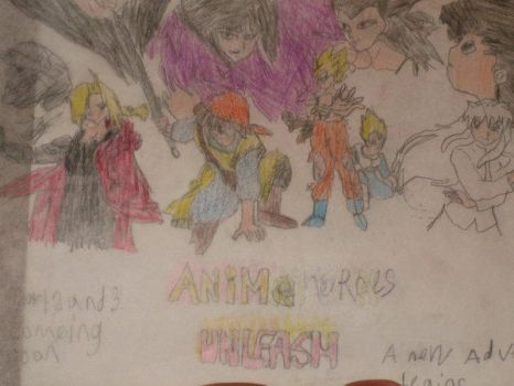 anime heros unleash by landon1989