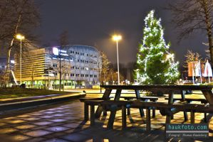 Outside the airport hotel hdr 2 by OrisTheDog
