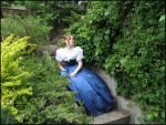 Garden Stairs I by Eirian-stock