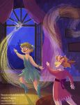 Peter Pan - Out the Window by kiki-doodle
