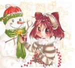 a gift for the snowman by amu-chan13