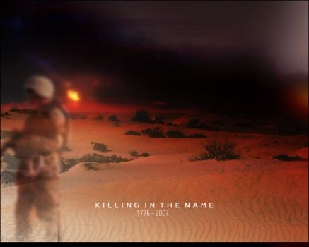 Killing in the name by emimerx