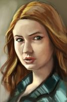 Amy Pond by stokesbook