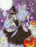 Bewitched .:Happy Halloween:. by Neko-setsuka